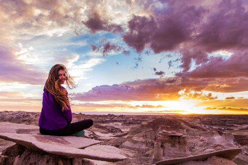 A Clairvoyant Meditates