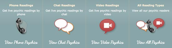 Different-Types of readings Psychic Source