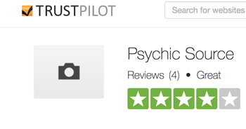 Trustpilot-Psychic-source-rating