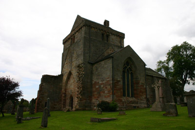 Keeping up with the neighbours: Crichton Collegiate Church